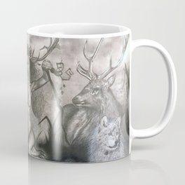 Elen of the Ways, Antlered Goddess Coffee Mug