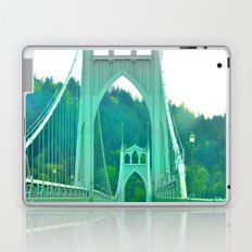 St. Johns Bridge Portland Oregon Laptop & iPad Skin