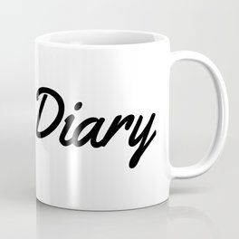 Dear Diary Coffee Mug