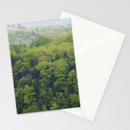 Flying Above the Tree Tops - Spring Trees  Stationery Cards