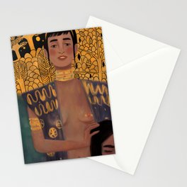 judith and the head of holofernes Stationery Cards