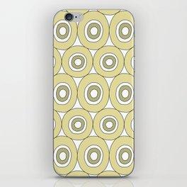 dots in green iPhone Skin
