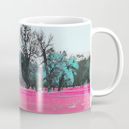 This is what happens when you cover an entire garden with fluorescent ink. Coffee Mug