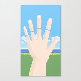 Disconnected: Save Failed Canvas Print