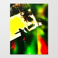 fitzgerald Canvas Prints featuring f. scott fitzgerald -  by stoneRage