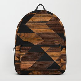 Urban Tribal Pattern 11 - Aztec - Wood Backpack