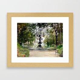"00:10:18, ""Acquired Aberration"" series Framed Art Print"