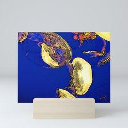 Mushrooms of the Sea - Jellyfish Mini Art Print