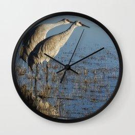 Craning x 2 Wall Clock