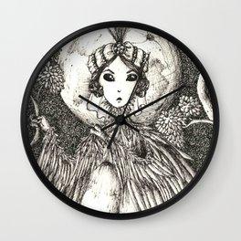Harpy queen Wall Clock