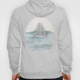 Floating Ship Hoody