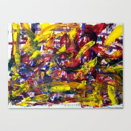 Blind Painting Canvas Print