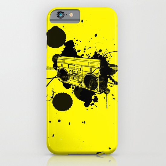 Vintage Boombox  iPhone & iPod Case
