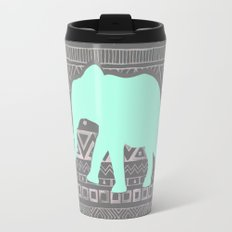Mint Elephant  Travel Mug