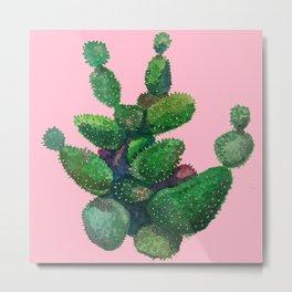 cactus big Metal Print