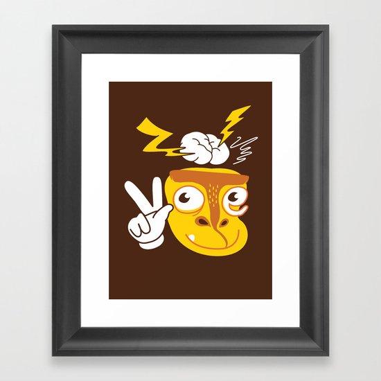 Vote Munkey Framed Art Print