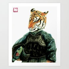 Master Tiger Art Print