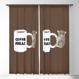 Coffee Freak Blackout Curtain