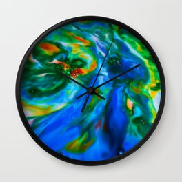 Milkblot No. 13 Wall Clock