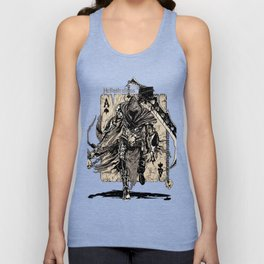 The Ace Of Spades Warrior Unisex Tank Top