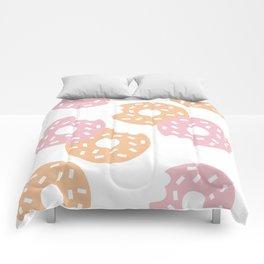 Sprinkled Donuts Comforters