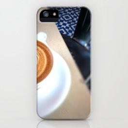 Blue Caffeine  iPhone Case