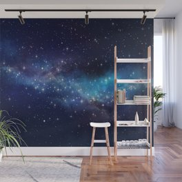 Floating Stars - #Space - #Universe - #OuterSpace - #Galactic Wall Mural