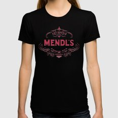 MENDL'S Black X-LARGE Womens Fitted Tee