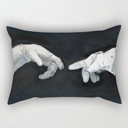 Cosmic Touch Rectangular Pillow