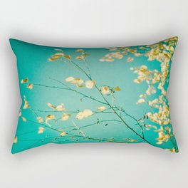 Sweet Little Autumn Leaves Rectangular Pillow