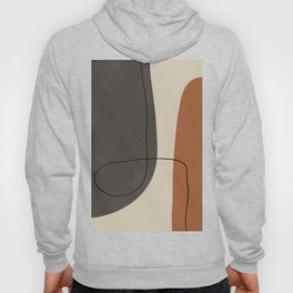 Modern Abstract Shapes #2 Hoody