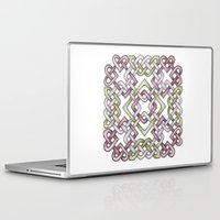 celtic Laptop & iPad Skins featuring Celtic Knotwork by Carrie at Dendryad Art