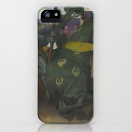A Medieval Knights Jousting Tournament iPhone Case