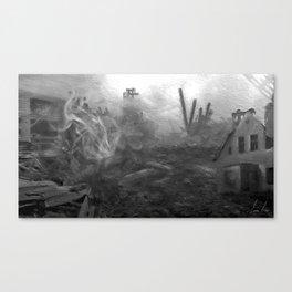 War Torn City V2 Canvas Print