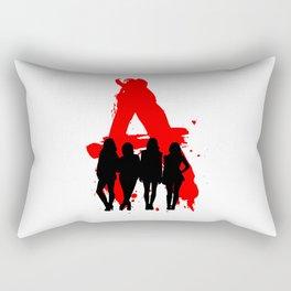 A's Liars Rectangular Pillow