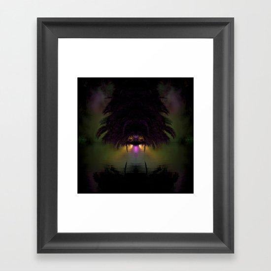 Tropical No Name Framed Art Print