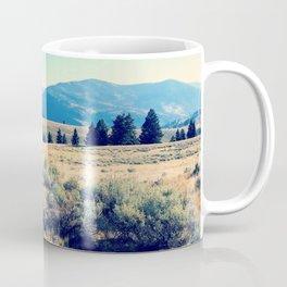The High Plains of Lamar Valley: Yellowstone National Park Coffee Mug