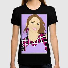 Knock Knock! Chaeyoung Purple T-shirt