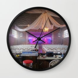 Preparing for a Concert Wall Clock