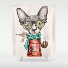 Mr.Peterbald Shower Curtain