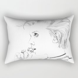 Millie Bobby Brown Rectangular Pillow