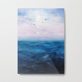 Watercolor Sea 5 Metal Print