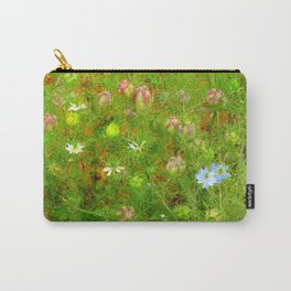 """Love in the Mist"" by ICA PAVON Carry-All Pouch"