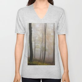 Forest ladscape Unisex V-Neck