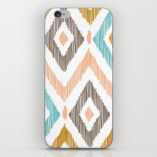 Sketchy Diamond IKAT iPhone & iPod Skin
