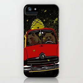 Honey Run iPhone Case