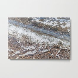 Rocks Below the Bohol Sea Metal Print