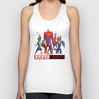 big hero 6 Tank Tops featuring Big Hero 6 by ezmaya