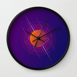 Geomeric Playgrond 09 Wall Clock
