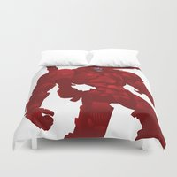 coyote Duvet Covers featuring Coyote by ChrisLufthound